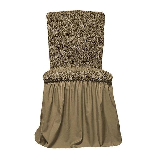 Комплект чехлов на стулья. Цвет: хаки