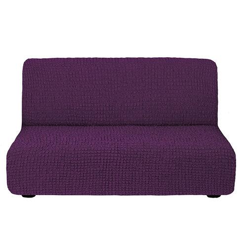 На диван без подлокотников. Цвет: фиолетовый