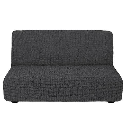 На диван без подлокотников. Цвет: антрацит