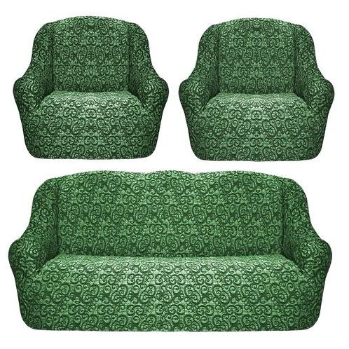 """Комплект чехлов """"KARTEKS"""". Цвет: зеленый"""