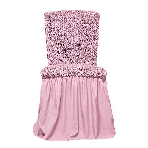 Комплект чехлов на стулья. Цвет: розовый