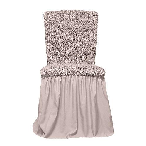 Комплект чехлов на стулья. Цвет: натуральный