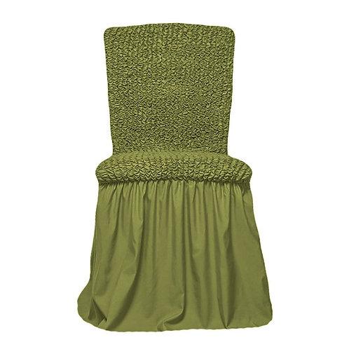 Комплект чехлов на стулья. Цвет: фисташковый