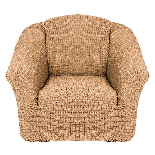 На кресло без оборки. Цвет: медовый