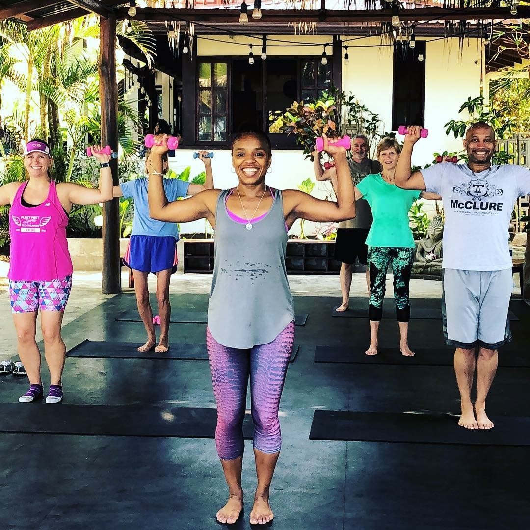 Fitness Retreat Strength Class