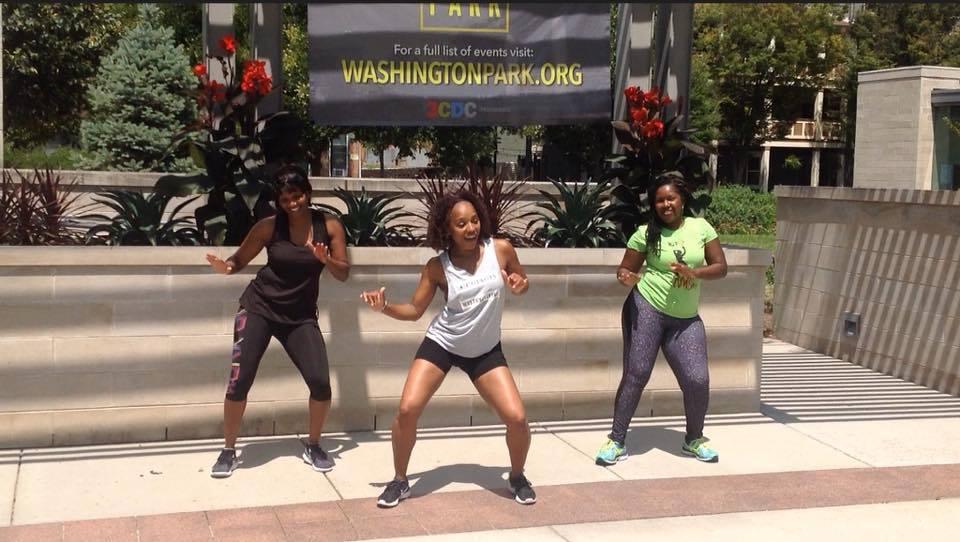 Dance Fitness In Park