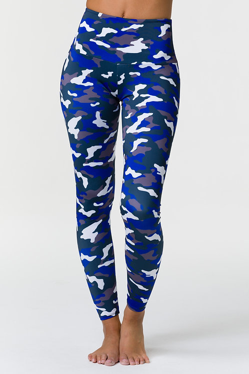HIGH RISE LEGGING - MIDNIGHT CAMO