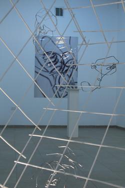 Arik Afek's exhibition in Hsadera