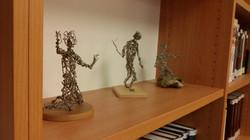 Statuettes by Arik Afek at IDC