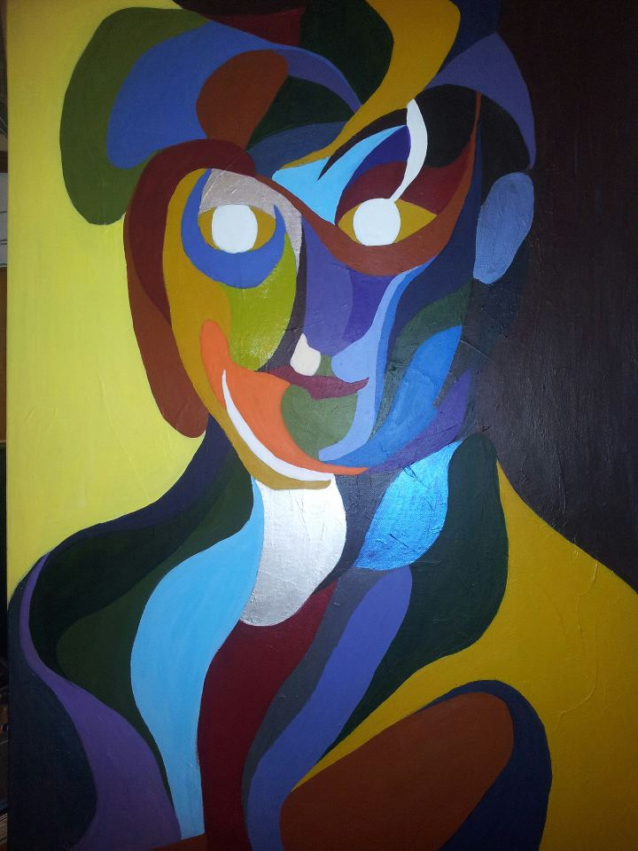rainbow man by arik afek