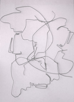 Hommage to analytic cubism by Afek