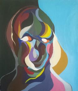 rainbow woman by arik afek