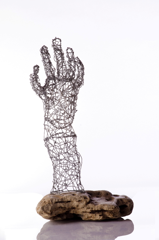 Hand from the stone by Arik Afek