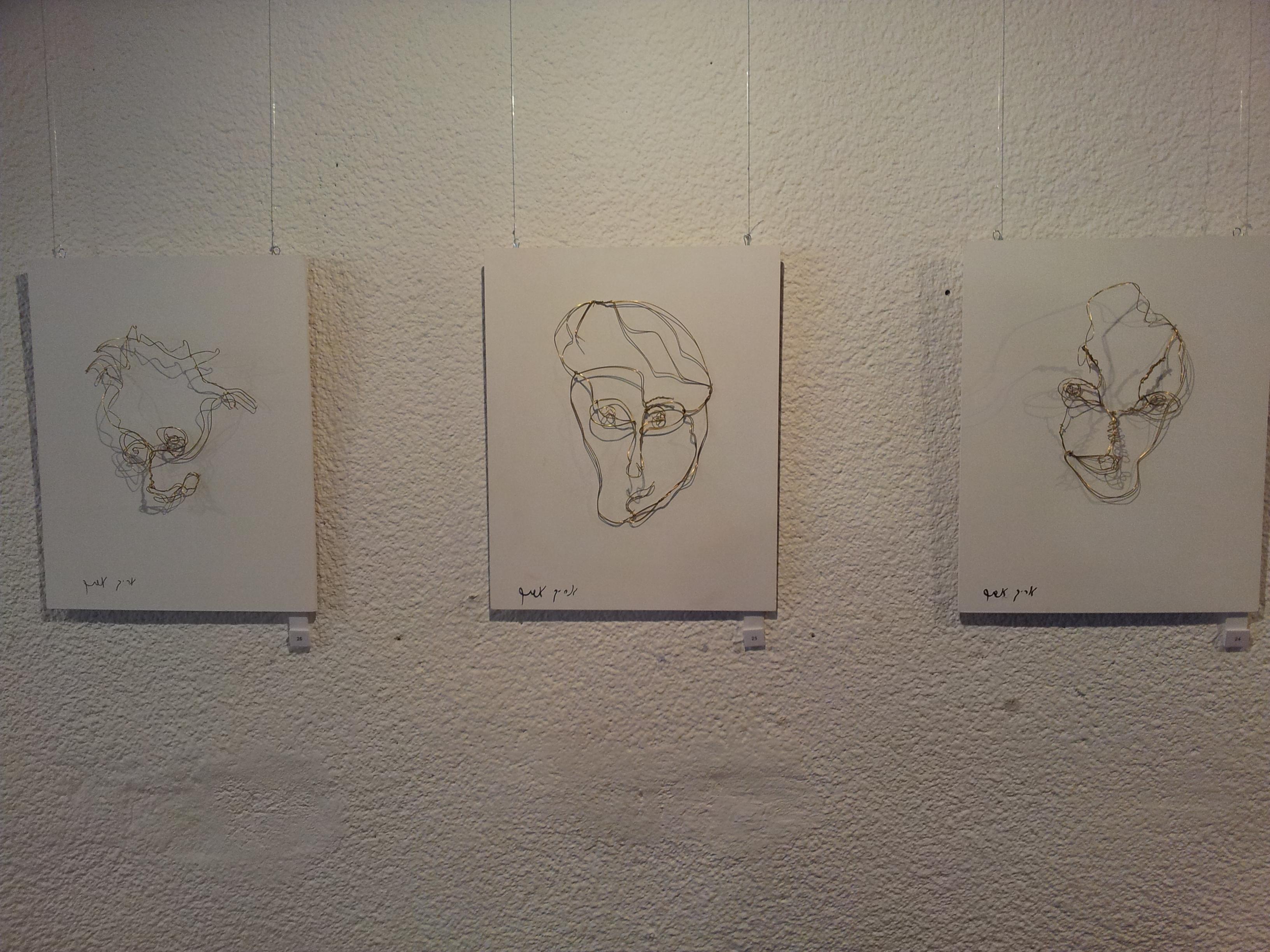 3 portraits by Arik Afek