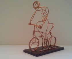 Biking by Arik Afek