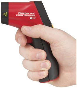 Non-Contact Thermometer with Dual Laser Targeting