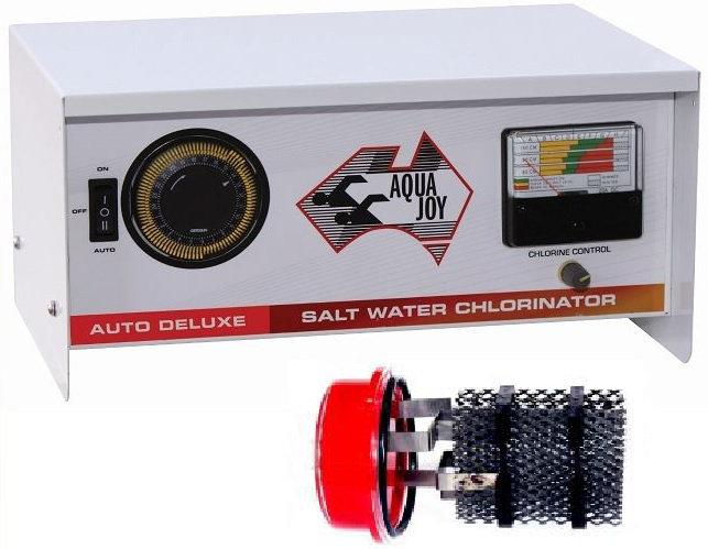 AQUA JOY AUTO DELUXE 60 Salt Water Chlorinator - Complete Unit