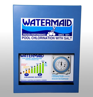 WATERMAID WM40 Salt Chlorinator - POWER PACK | AUTO (with Timer)