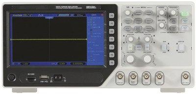 100MHz Dual Channel Oscilloscope with Digital Storage