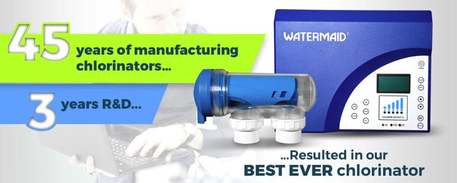 WATERMAID EcoBlend RP11 Self Cleaning Salt Water Chlorinator