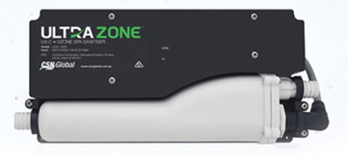 Ultrazone UV-C + OZONE Spa Sanitiser