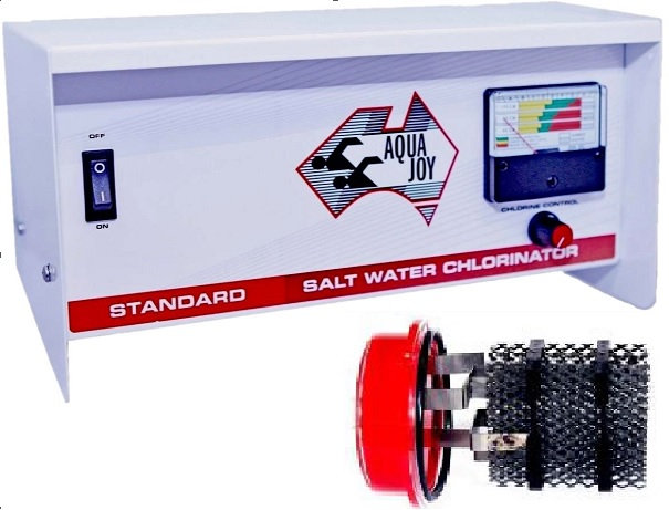 AQUA JOY STANDARD LS60 Salt Water Chlorinator - Complete Unit
