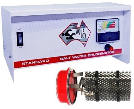 AQUA JOY STANDARD LS90 Salt Water Chlorinator - Complete Unit