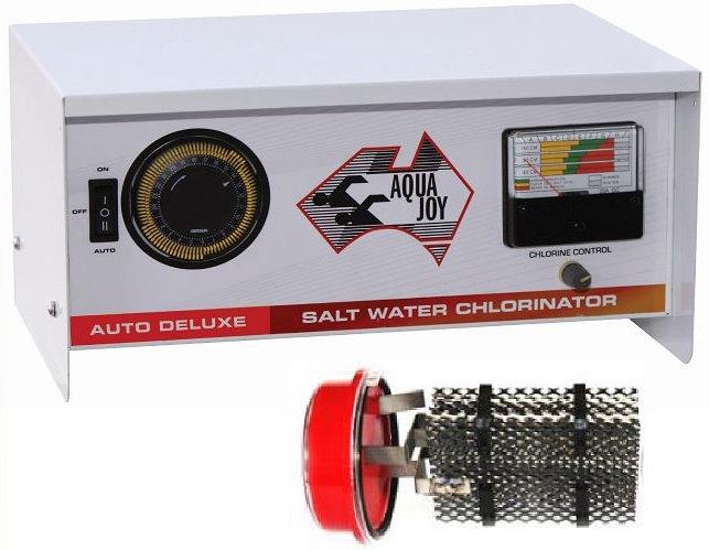 AQUA JOY AUTO DELUXE 90 Salt Water Chlorinator - Complete Unit