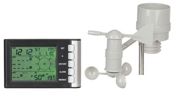 Mini LCD Display Weather Station