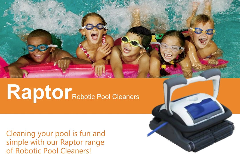 RAPTOR H3012 - Robotic Pool Cleaner