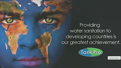 TankPro Water Sanitation for Developing Countries