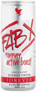 FAB X Forever Active Boost/ ФАБ Х Природен енергетски пијалок