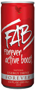 FAB Forever Active Boost Natural Energy Drink /ФАБ Природен енергетски пијалок