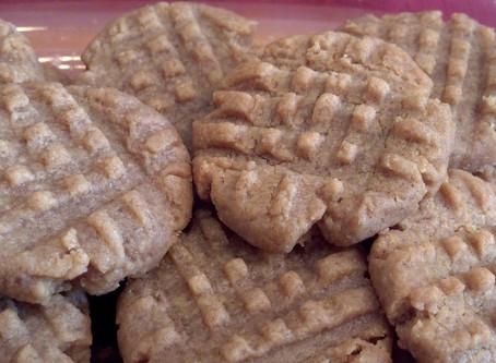 Recept: Peanut butter cookies