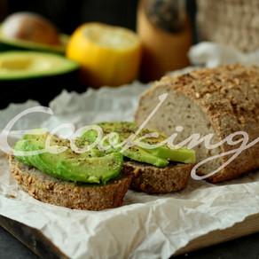 Хлеб из зеленой гречки (без закваски и дрожжей) простой рецепт, без глютена