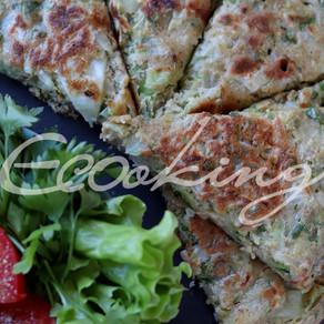 Капустные пироги и лепешка на зеленой гречке vegan постные gluten free