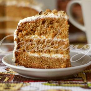 Морковный торт (безумно вкусный)!