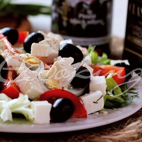 Средиземноморский салат (для завтрака)