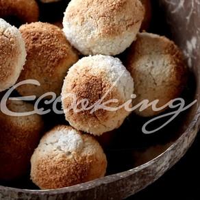 Кокосовое печенье vegan, без глютена