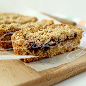 Простой и очень вкусный постный насыпной пирог / vegan