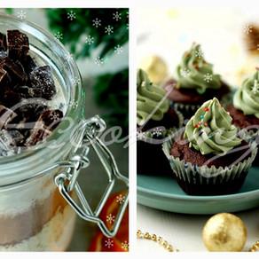 Подарок в банке / идеальные шоколадные капкейки vegan (постные) / gluten free