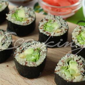 Суши с киноа Vegan (постные)