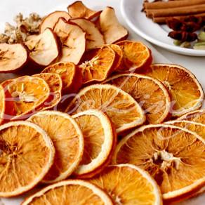 Как засушить цитрусовые и сделать смесь для глинтвейна