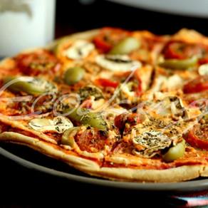 ПИЦЦА / удачное бездрожжевое тесто + 2 вкусных соуса / vegan (постная) / gluten free