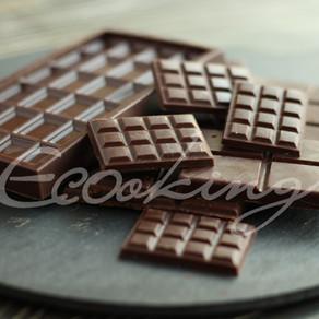 Живой черный шоколад (темперированный) vegan