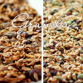 Вкуснейшая гранола (2 вида: ванильная и шоколадная) / без сахара и меда / vegan (постная)