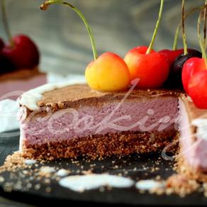 Ферментированный кешьюкейк (чизкейк) творожный на вкус / vegan