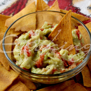 Гуакамоле (мексиканский салат-соус) vegan