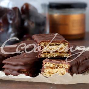 Шоколадные батончики за 5 минут! vegan (постные) / без глютена