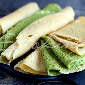 Постные кукурузные блины vegan gluten free